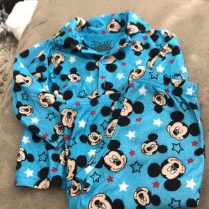 24 month Mickey Mouse we've pajamas set